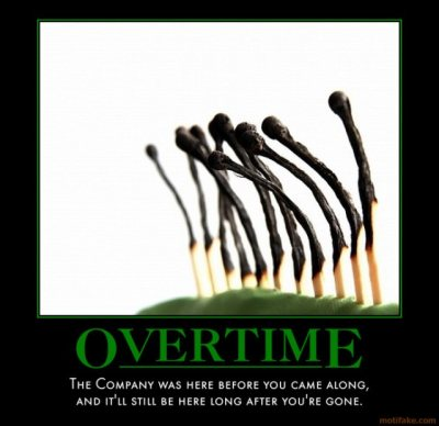 'Overtime' from MotiFake.com