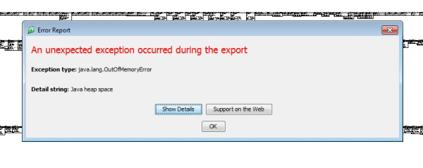Sql Power Architect Java Heapspace Error