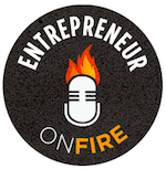 Entrepreneur on Fire Podcast Logo