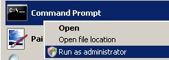 Get Elevated Command Prompt